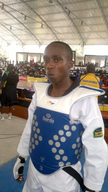 First Competitor in All Africa Games '11
